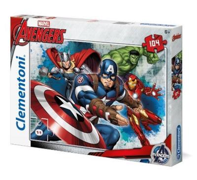 Puzzle SuperColor Avengers 104 (27973)