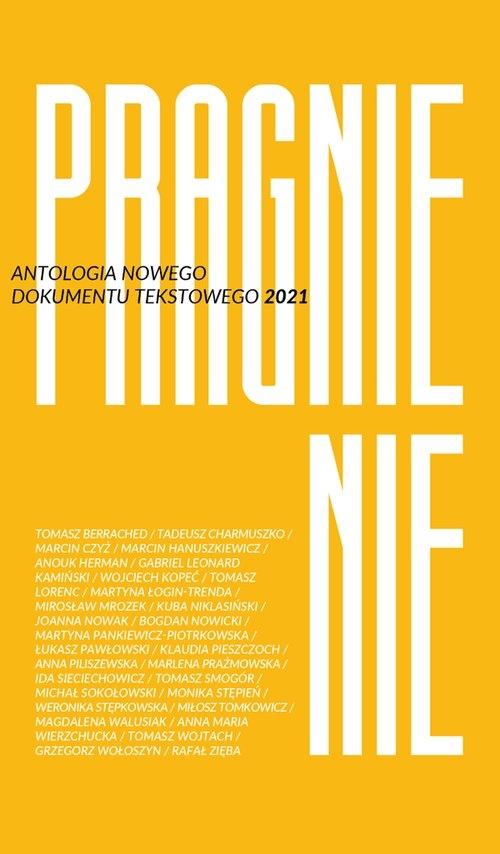 Pragnienie Antologia Nowego Dokumentu Tekstowego 2021