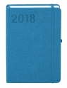 Kalendarz 2018 Popart A6 jasnoniebieski
