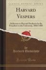 Harvard Vespers