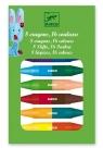 Kredki pastelowe dwustronne 16 kolorów