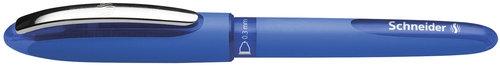 Pióro kulkowe Schneider One Hybrid C, 0,3 mm, niebieski