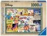 Puzzle 1000: Stare plakaty z filmów Disney (19874)