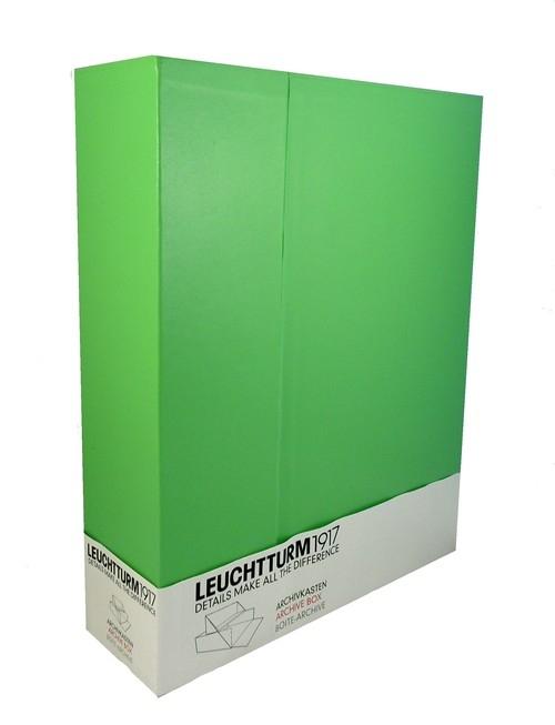 Pudełko na dokumenty A4 Leuchtturm1917 limonkowe