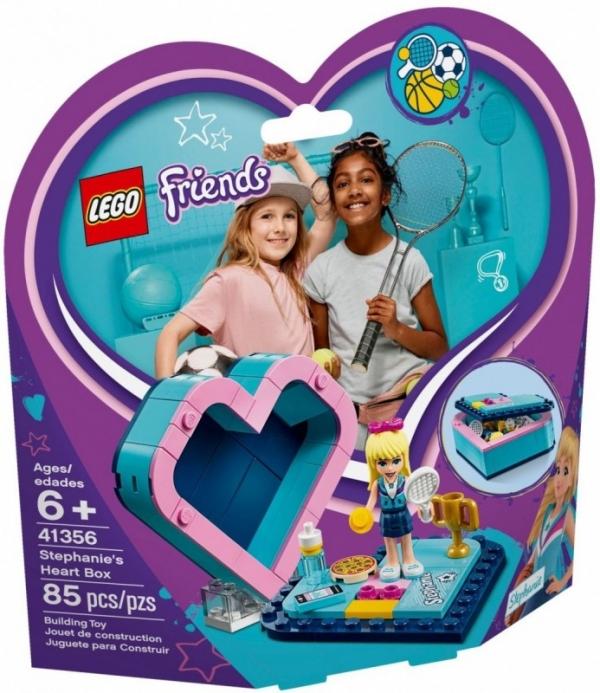 Klocki Friends Pudełko w kształcie serca Stephanie (41356)
