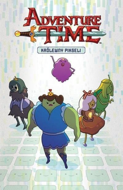 Adventure Time - Królewny pikseli praca zbiorowa