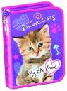 Piórnik dwuklapkowy b.w. My Little Friend Kot