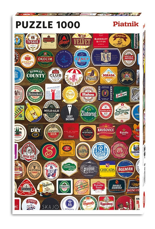Puzzle 1000: Podkładki pod piwa (5517)