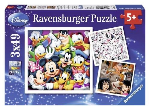 Puzzle Klasyczny Disney 3x49