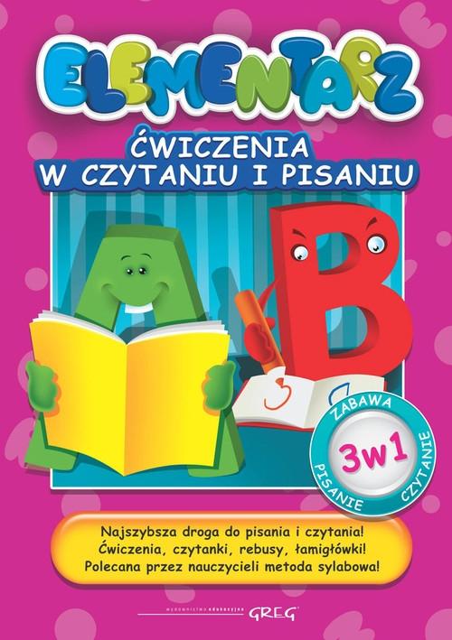 Ćwiczenia w czytaniu i pisaniu. Elementarz Kurdziel Marta, Karczmarska-Strzebońska Alicja