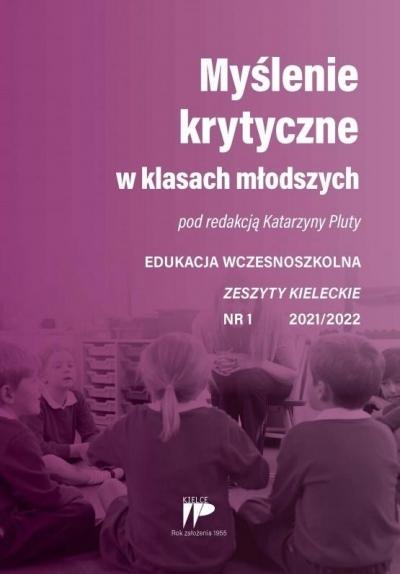 Myślenie krytyczne w klasach... EW 1 2021/2022 red. Katarzyna Pluta