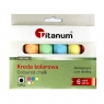 Kreda chodnikowa Titanum, 6 kolorów (109668)
