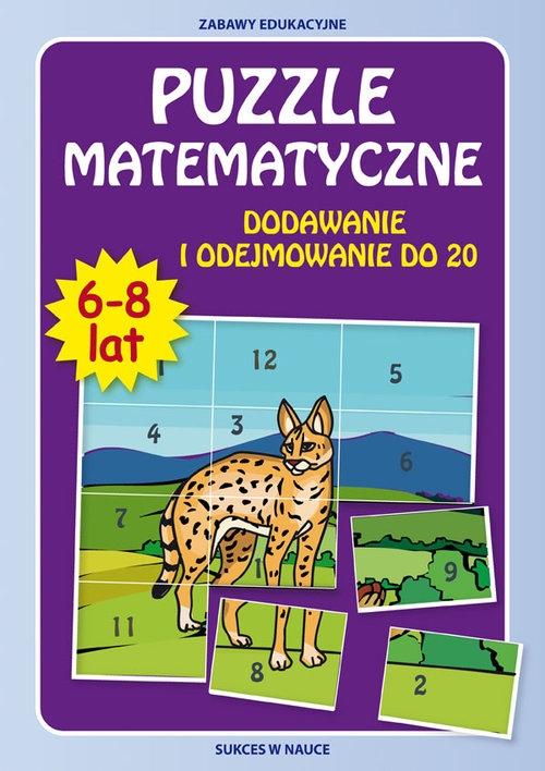 Puzzle matematyczne 6-8 lat Guzowska Beata, Tonder Krzysztof