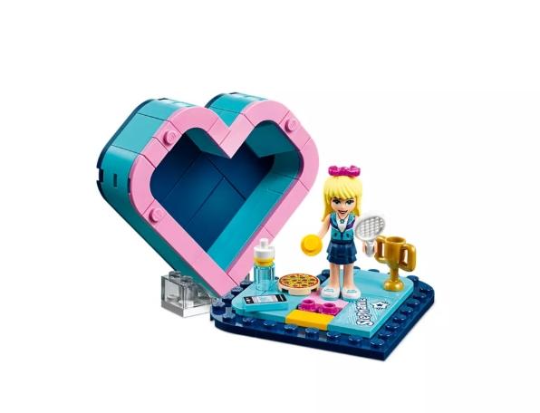 LEGO Klocki Friends: Pudełko w kształcie serca Stephanie (41356)