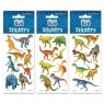 Naklejki Sticker BOO silver - Dinozaury (237313)