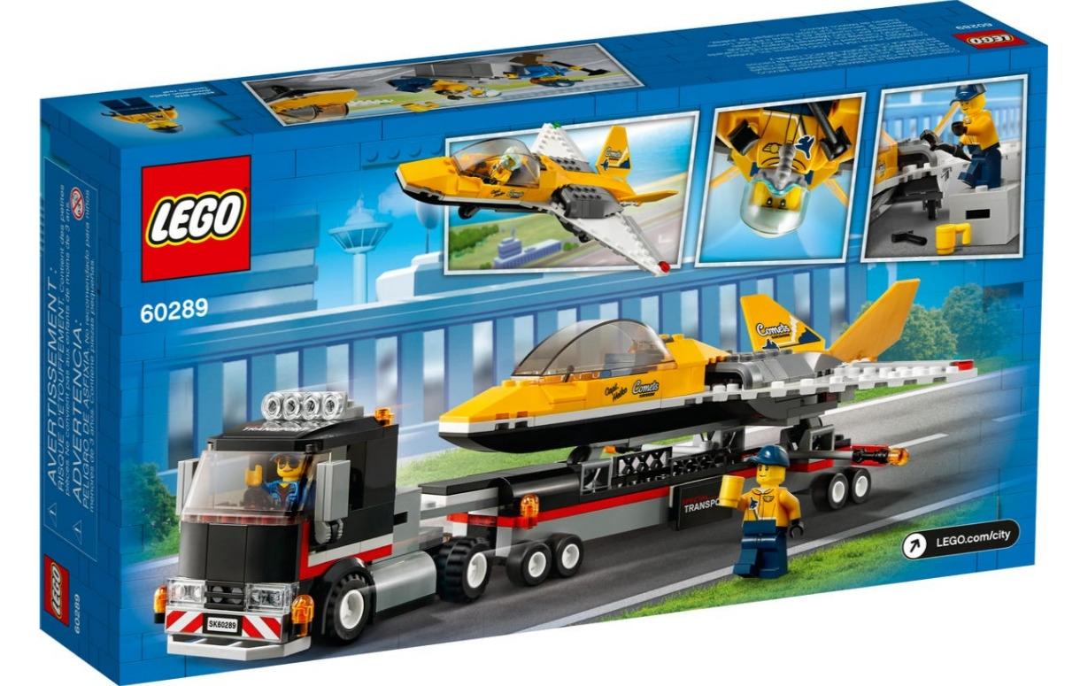 Lego City: Transporter odrzutowca pokazowego (60289)