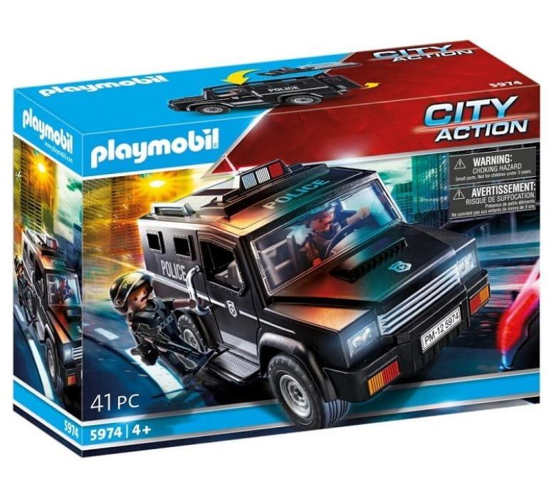 Playmobil City Action: Pojazd terenowy jednostki specjalnej (5974)