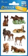 Naklejki papierowe. Konie (55974)