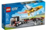 Lego City: Transporter odrzutowca pokazowego (60289) Wiek: 5+