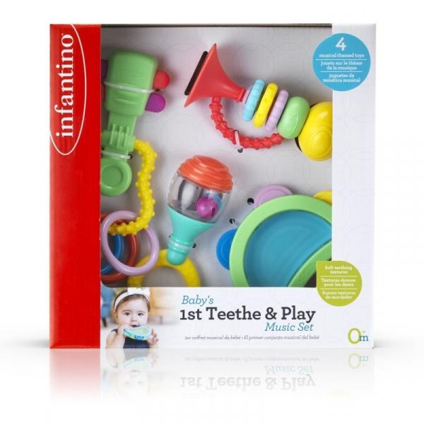 Infantino Zestaw pierwszych zabawek 4 elementy (150315074)