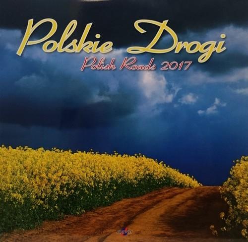 Kalendarz 2017 KD-27 ścienny duży Polskie Drog
