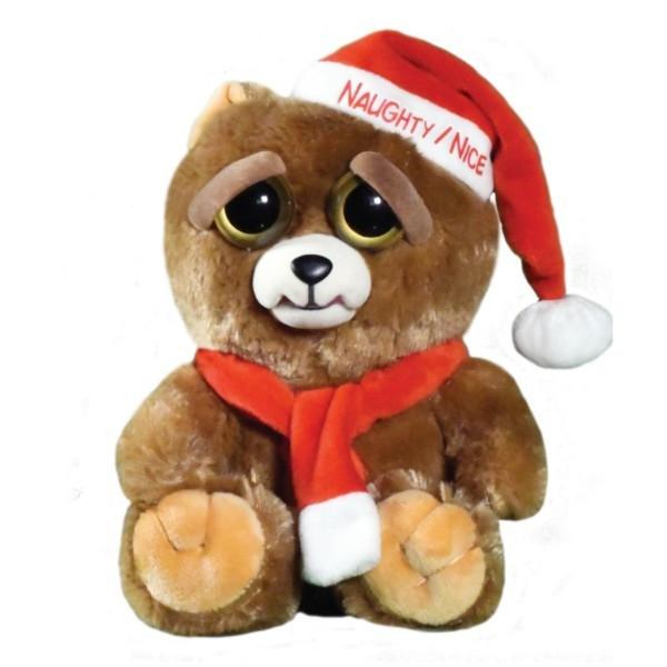 Maskotka FEISTY PETS Świąteczny miś (32374)
