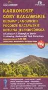 Karkonosze Góry Kaczawskie Rudawy Janowickie Pogórze Kaczawskie Kotlina Jeleniogórska mapa turystyczna 1: 50 000