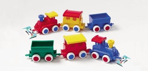 Pociąg Jumbo z wagonem