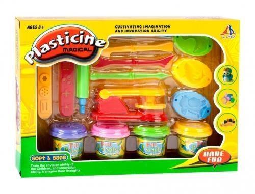 Zestaw masa plastyczna z akcesoriami