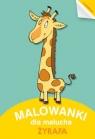 Malowanki dla Malucha Żyrafa
