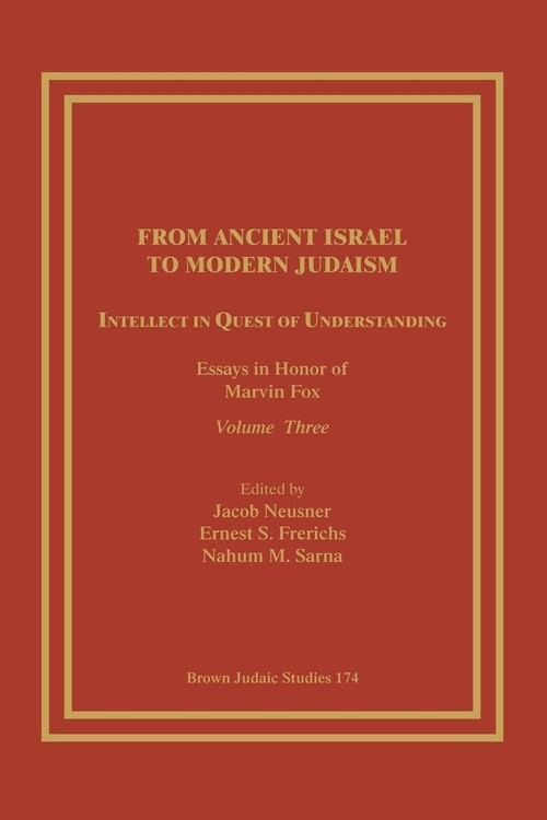 From Ancient Israel to Modern Judaism
