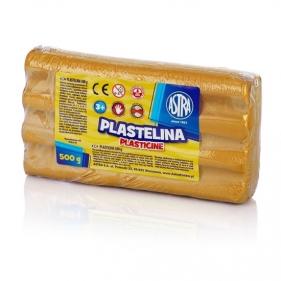 Plastelina metaliczna Astra 500g złota