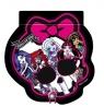 Notes w kształcie czaszki Monster High