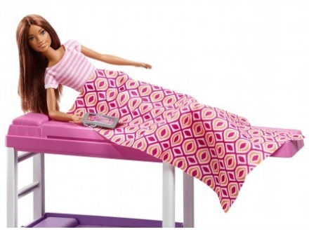 Barbie lalka sypialnia (FXG52)