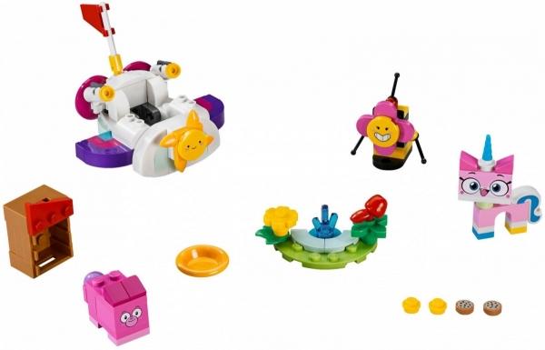 Lego Unikitty: Chmurkowy pojazd Kici Rożek (41451)