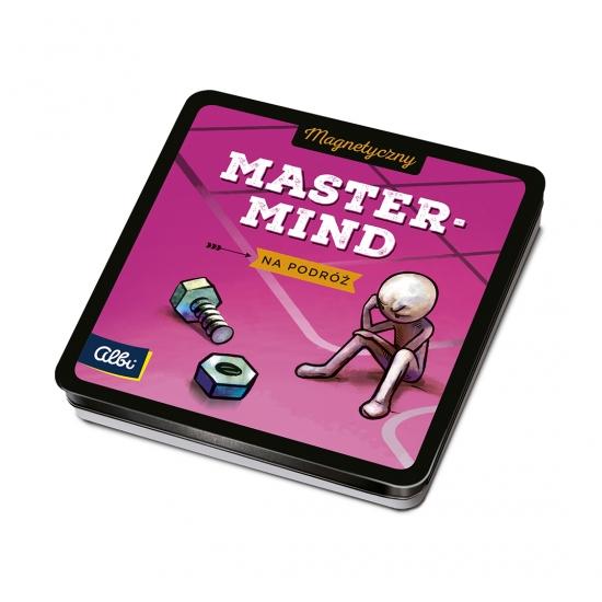 Magnetyczne gry - Mastermind (33680) (Uszkodzone opakowanie)