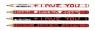 Ołówek I love you MIX D72 AL130202 (2061130202990)