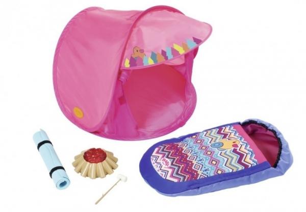 BABY BORN Zestaw campingowy z namiotem (823743)