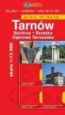 Tarnów. Bochnia. Brzesko. Dąbrowa Tarnowska. Plan miasta w skali 1:13 000 praca zbiorowa