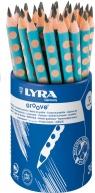 Ołówek Lyra Groove B turkusowy 1873362