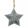Gwiazda - ozdoba wisząca CHRISTMAS JOY