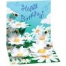 Kartki 3D - Bees and Daisies