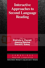 Interactive Approach to Second Language Reading PB