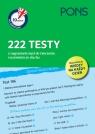 10 minut na angielski PONS 222 testy z nagraniami mp3 do ćwiczenia rozumienia ze słuchu A1/A2