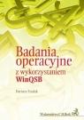 Badania operacyjne z wykorzystaniem WinQSB