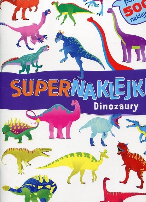 Supernaklejki Dinozaury