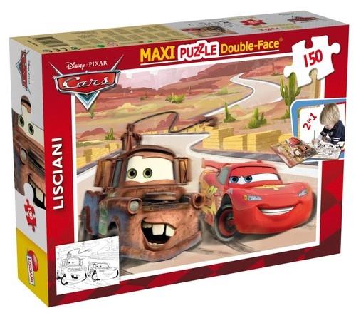 Puzzle dwustronne Maxi 150 Auta