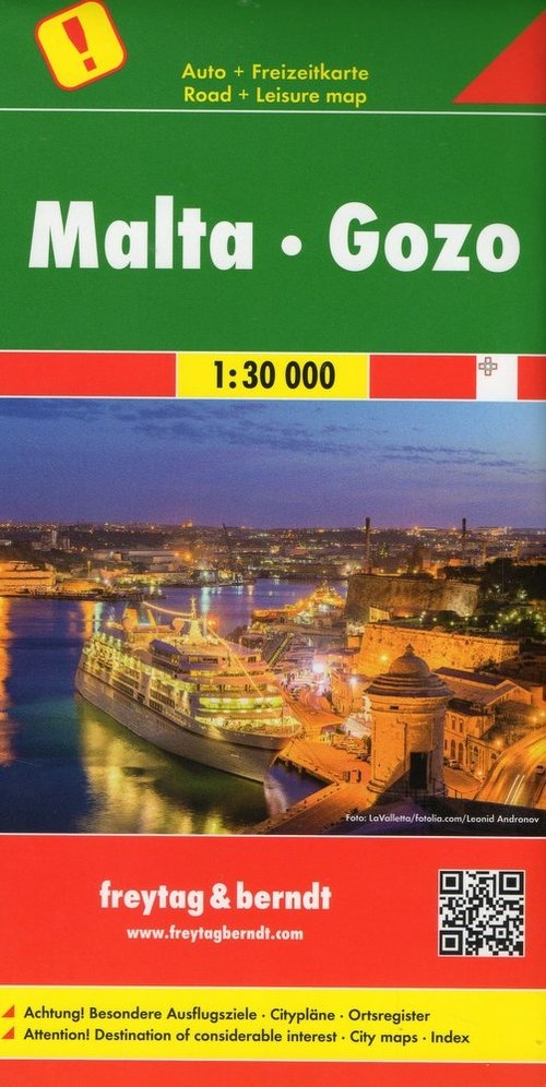 Malta Gozo 1:30 000