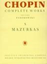 Chopin Complete Works X Mazurki