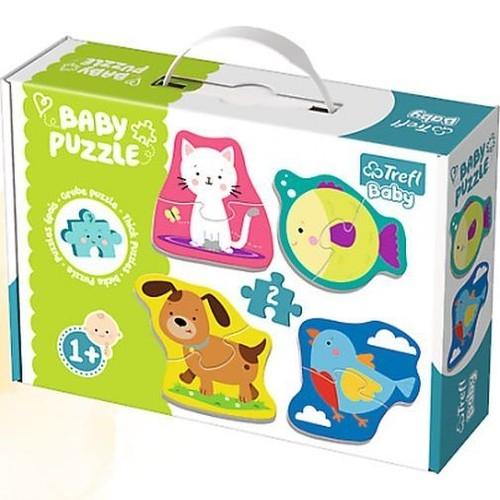 Puzzle Baby Classic 4w1: Zwierzątka (36074)